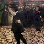 Samuel Hirszenberg, 'Spinoza en de rabbijnen'